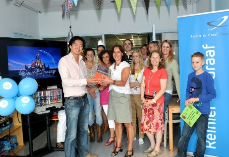 studentenvereniging Delft schenkt